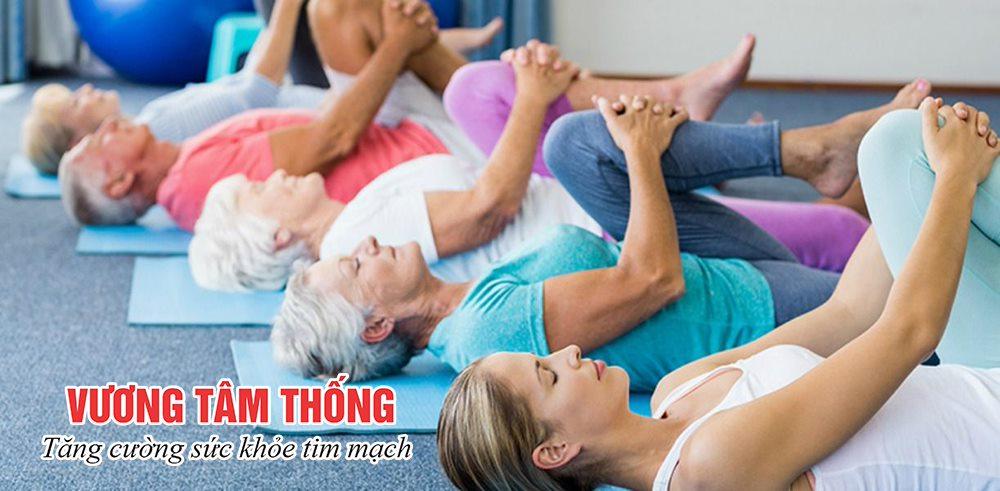 Người bệnh hở van tim nên tập thể dục thường xuyên